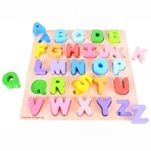BIGJIGS: układanka alfabet