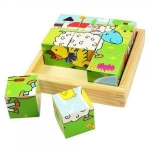 BIGJIGS: puzzle kloci farma