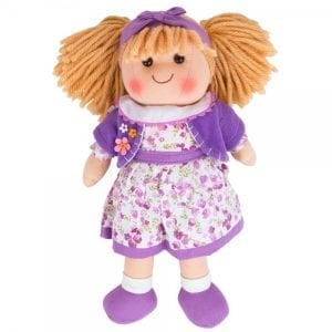 BIGJIGS: Lalka Laura 34cm