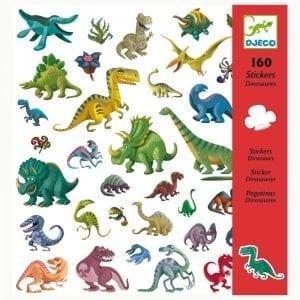 djeco: naklejki dinozaury 4+