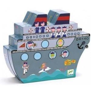 djeco: magnetyczna Gra w statki 5+