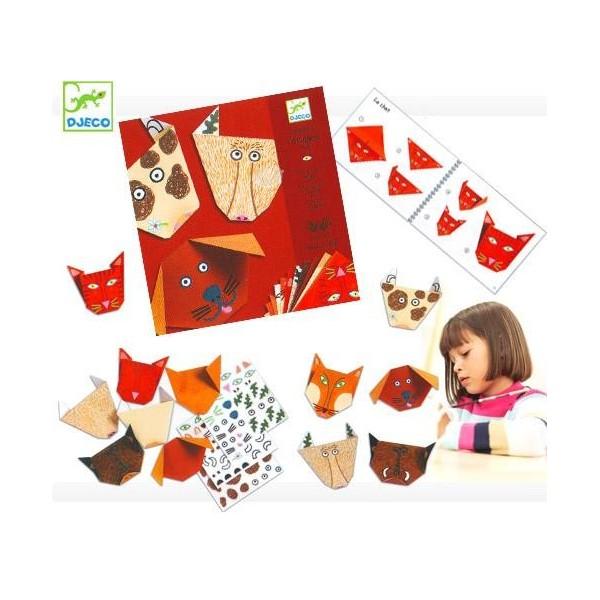 djeco: origami zwierzaki 4+