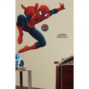 ROOMMATES: Spiderman XL Naklejki wielokrotnego użytku