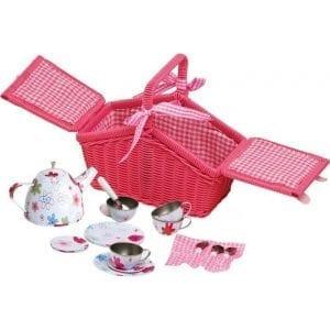 legler: Zestaw do herbatki w koszyczku