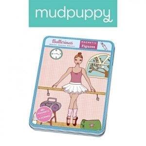 Mudpuppy: Magnetyczna układanka Baletnice 6+
