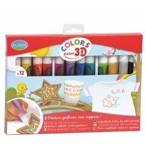 Colors 3D Paint - tusz do szkła, tkanin