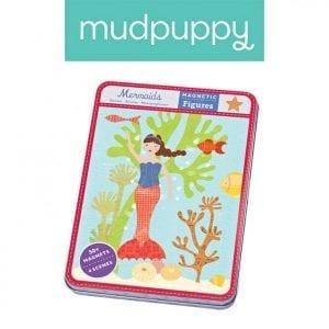 mudpuppy: magnetyczna układanka syrenki 6+