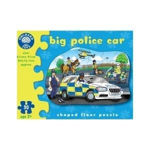 orchard toys duże puzzle wóz policyjny 30 el.