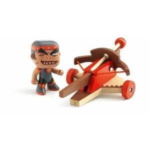 djeco arty toys wojownik klute z kuszą
