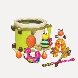 B.TOYS bębenek z instrumentami - parum-pum-pum