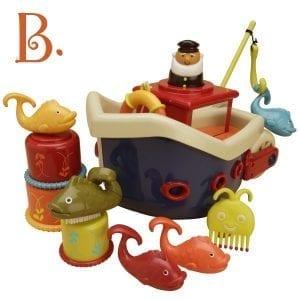 B.TOYS zestaw do kąpieli statek z akcesoriami - fish&splish