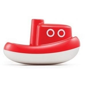 KIDO Łódka Tug Boat mini CZERWONA
