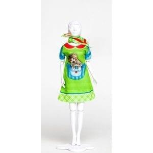 Dress Your Doll strój do uszycia twiggy kitten