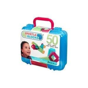BRISTLE BLOCKS klocki jeżyki w walizce 50 el.