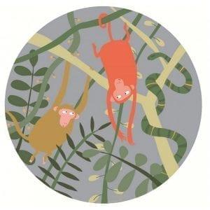 Petit Jour Paris: Talerzyk Małpy / Dżungla Arty Frog