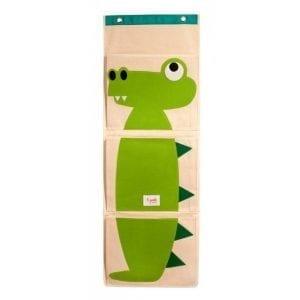 3 Sprouts Organizer Na Ścianę Krokodyl