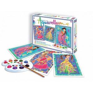 sentosphere, aquarellum Glamour Girls zestaw artystyczny