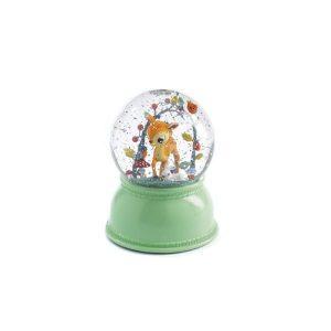Djeco: lampka kula śnieżna jelonek