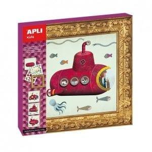 Apli Kids: obrazy do wyklejenia - pojazdy