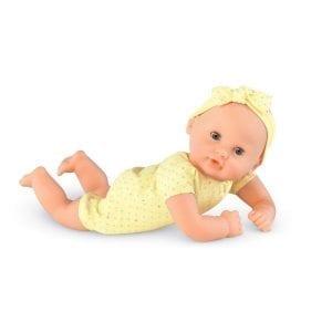 corolle: lalka bobas bebe calin żółta