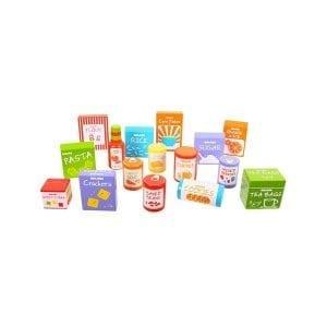 bigjigs: zestaw produktów spożywczych