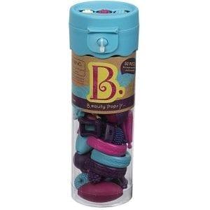 b.toys: B.eauty Pops Jr. Beads - zestaw do tworzenia biżuterii - 50 el. - turkus