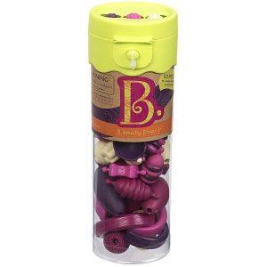 b.toys: B.eauty Pops Jr. Beads - zestaw do tworzenia biżuterii - 50 el. - seledyn