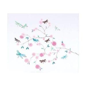 djeco naklejki ścienne 3D drzewo z motylami