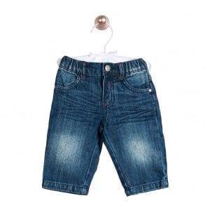 PT: granatowe jeansy, 92cm / 24m