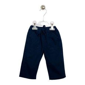 PT: granatowe spodnie, 74cm / 9m