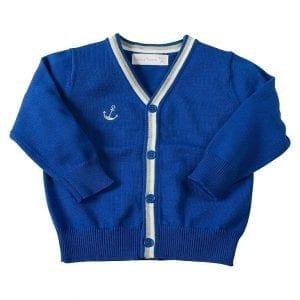 PT: niebieski sweterek, 110cm / 5l