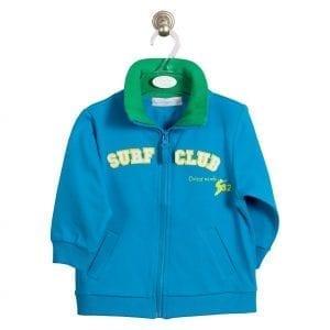 PT: niebieska bluza surf club, 92cm / 2l