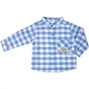 PT: koszula w kratę, 104cm / 4L