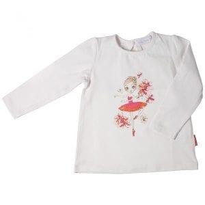 PT: bluzka z baletnicą, 92cm / 2l