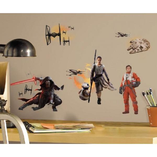 Roommates Star Wars Vii Naklejki Scienne Wielokrotnego Uzytku