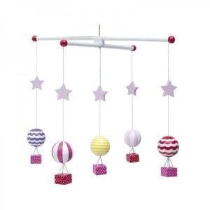 Jabadaba: balony mobil drewniany