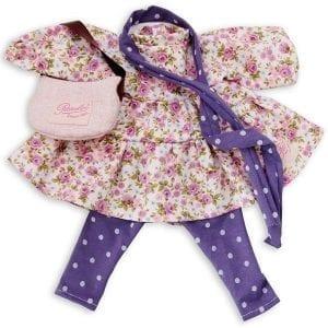 Petitcollin: zestaw dla lalki 36-40cm