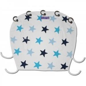 Dooky: Osłonka do wózka i fotelika blue Stars