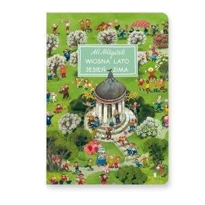 Książka: Wiosna, lato, jesień, zima / A. Mitgutsch