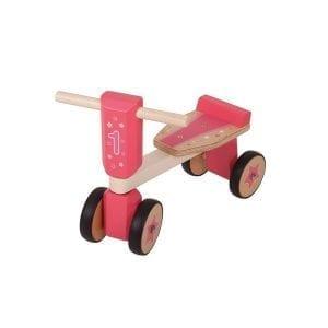 BIGJIGS: rower jeździk różowy