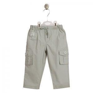PT: szare spodnie, 104cm / 4l