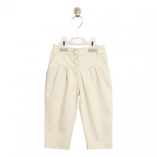 PT: beżowe spodnie, 110cm / 5L