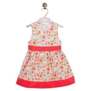 pt: sukienka w kwiaty, 86cm / 18m