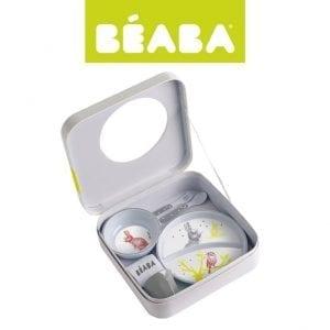 Beaba: Zestaw jedzeniowy Bunny