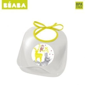 Beaba: Śliniak z kieszonką bunny