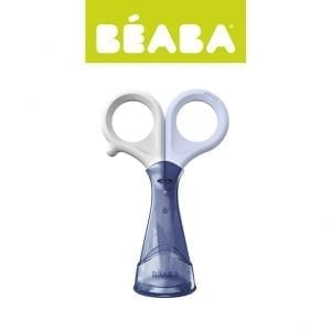 Beaba Nożyczki do paznokci w etui mineral