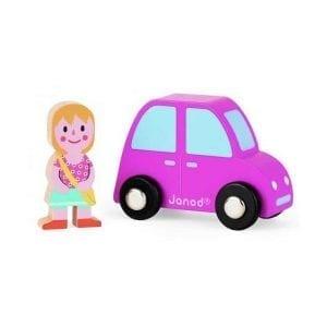 JANOD: autko i dziewczynka