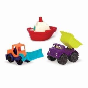 B.TOYS: zestaw pojazdów LOADERS & FLOATERS
