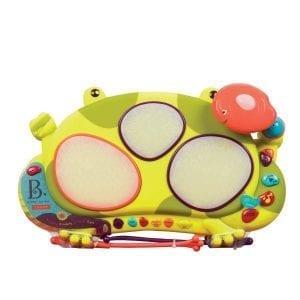 B.TOYS: perkusja żaba Ribbit-tat-tat