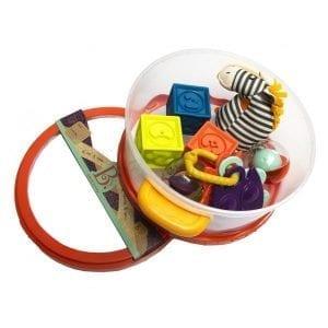 B.TOYS: zestaw dla niemowląt Wee B. Ready
